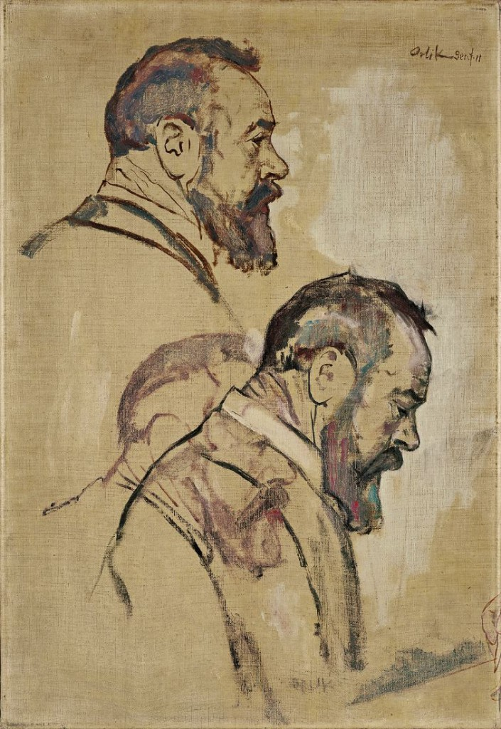 studies-of-self-portrait-1911
